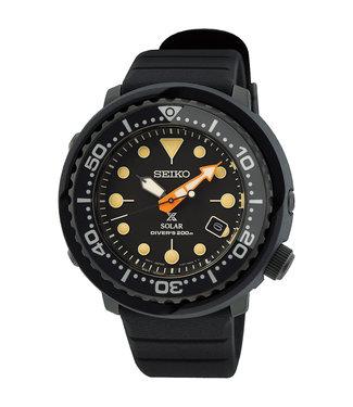 Seiko Prospex Solar Black Series Limited Edition heren horloge SNE577P1