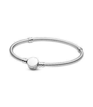 Pandora Engravable Disc Clasp bracelet 599381C00