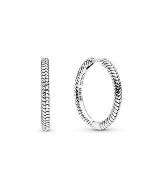 Pandora Charm hoop earrings 299532C00