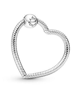 Pandora Heart Charm Holder 399505C00
