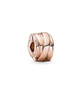 Pandora Polished Ribbons Clip rose 789502C00