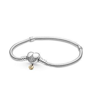 Pandora Disney Heart Clasp bracelet 569563C01