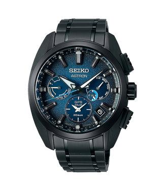 Seiko Astron GPS Solar Limited Edition Titanium heren horloge SSH105J1