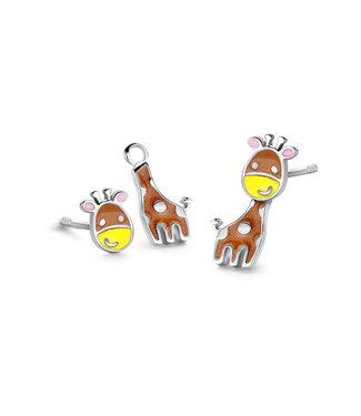 Orage Kids & Teenz oorbellen Giraf O/3550