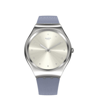 Swatch Blue Moire SYXS134