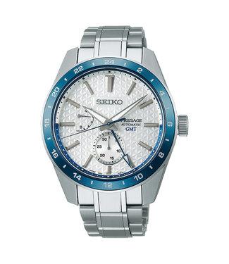 Seiko Presage Automatic GMT heren horloge 140th Limited Edition SPB223J1