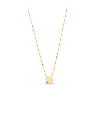 Lisamona Gold ketting 14kt geelgoud Rond G0240