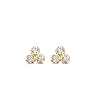 Lisamona Gold oorbellen 14kt geelgoud G0265