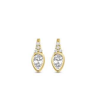 Lisamona Gold oorbellen 14kt geelgoud G0270