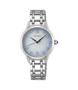 Seiko Classic Diamonds dames horloge 140th Anniversary Limited Edition SRZ539P1