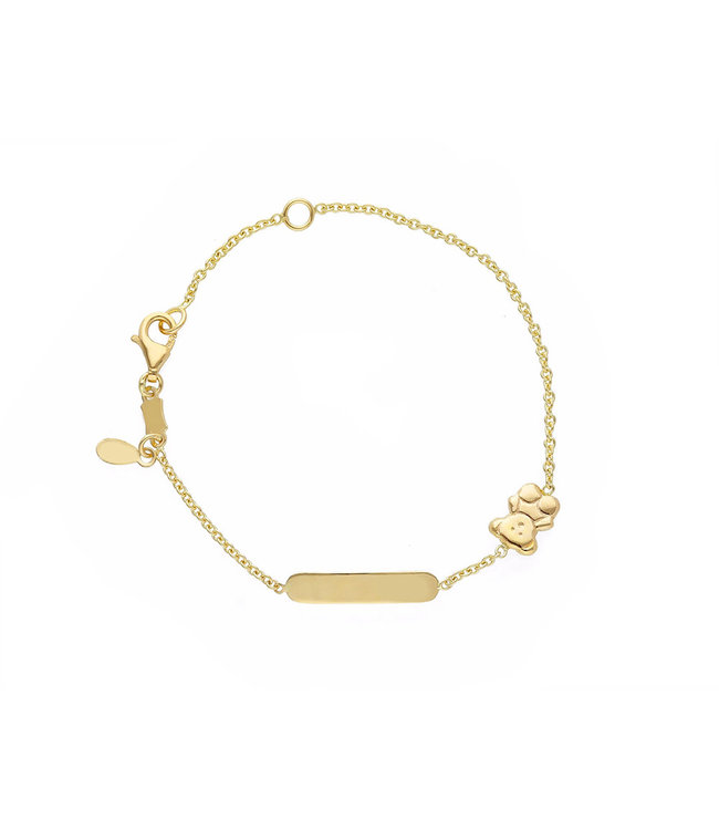 Willems Creations armband 18kt Identiteit 253013