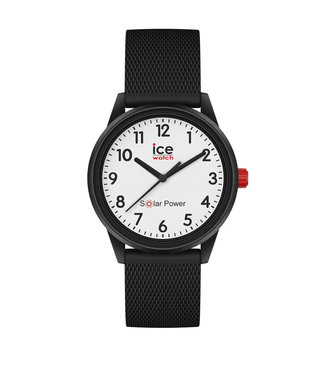 Ice Watch Ice Solar Power - Black White - Numbers - Small - 018478