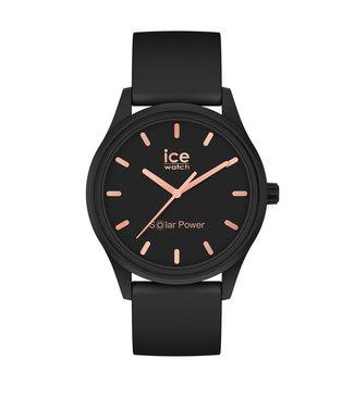 Ice Watch Ice Solar Power - Black rose-gold - Small - 018476