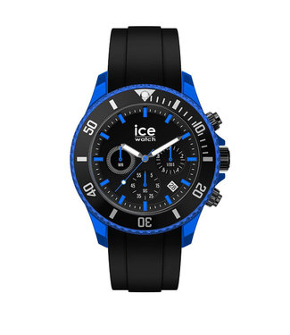 Ice Watch Ice Chrono - Black Blue - Extra Large - 019844