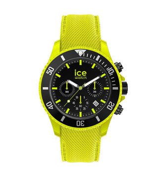 Ice Watch Ice Chrono - Neon Yellow - Large - 019838