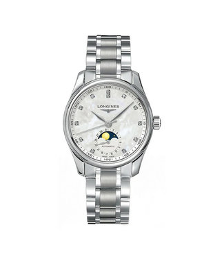 Longines Master Collection Moonphase Automatic dames horloge L24094876