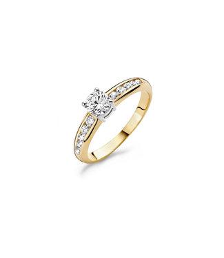 Blush ring 14kt bicolor 1154BZI