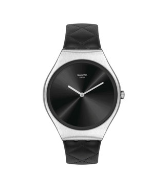 Swatch Black Quilted SYXS136