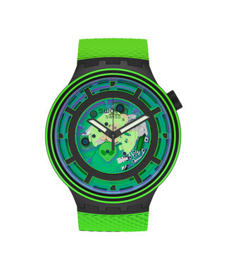 Swatch Big Bold Planets Come in Peace SB01B125
