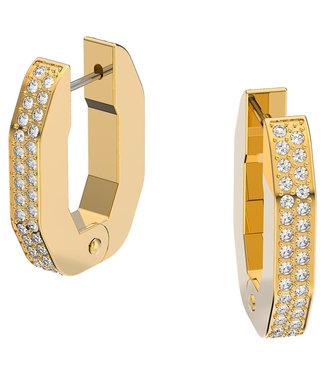 Swarovski Dextera hoop pierced earrings 5626084