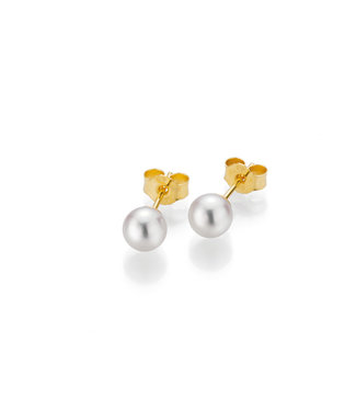 Gellner Pearls oorbellen 18kt parel 5-22536-01