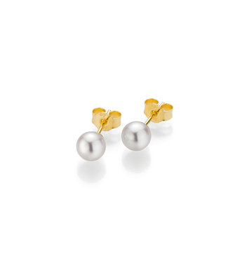 Gellner Pearls oorbellen 18kt parel 5-22537-01