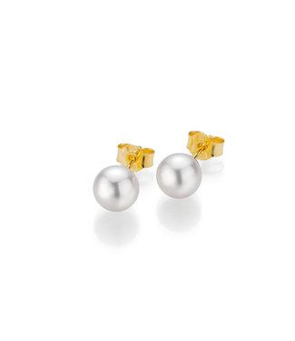 Gellner Pearls oorbellen 18kt parel 5-22539-01