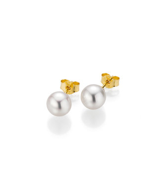 Gellner Pearls oorbellen 18kt parel 5-22540-01