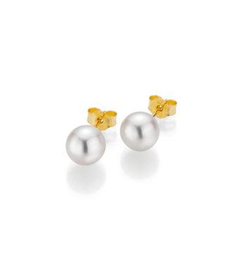 Gellner Pearls oorbellen 18kt parel 5-22541-01