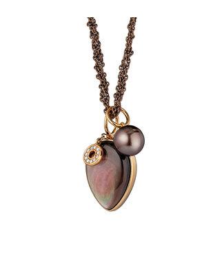 Gellner Pearls ketting Melange 5-23101-01