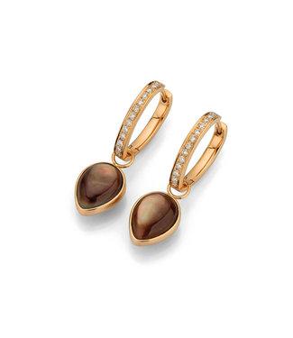 Gellner Pearls oorbellen Melange 5-23389-01