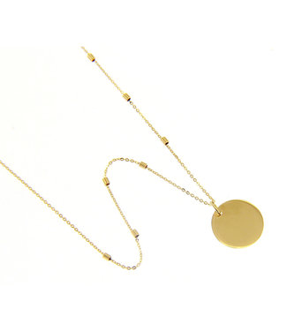 Willems Creations ketting 18kt geelgoud 202312