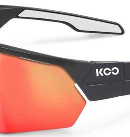 KASK KASK SUNGLASSES OPEN, ANTHRACITE, MATT/WHITE, RED MIRROR LENS, M ASIAN FIT