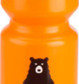 SALSA Salsa Water Bottle Purist 26oz, Bike Ridin' Bear, Orange