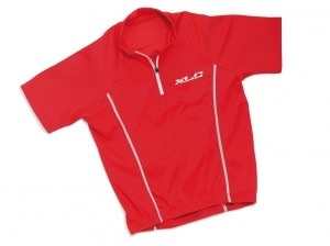 XLC XLC Kids Cycling Jersey Short Sleeve, Red