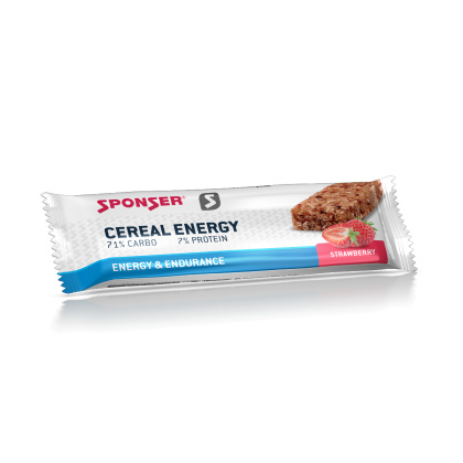 Sponser SPONSER Cereal Energy Bar, Strawberry, 40g