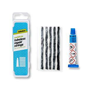 WELDTITE Weldtite Tubeless Repair Strings with Rubber solution refill pack