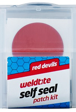 WELDTITE Weldtite Red Devils Self Seal Patch Kit, 6 patches