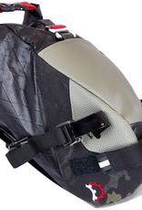 REVELATE DESIGNS REVELATE DESIGNS Vole Saddle Bag: 26mm Valais, Black Camo