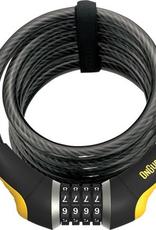 ONGUARD OnGuard doberman Combination Cable Lock 6'x12mm