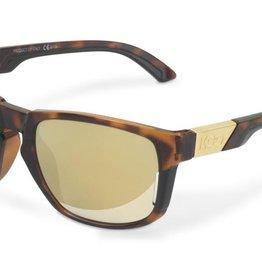 KASK KOO California Sunglasses Tortoise Frame, Gold Zeiss Lens