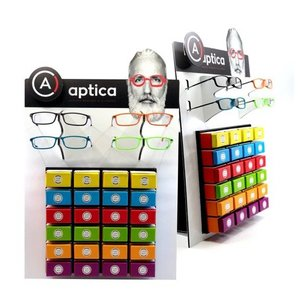 Aptica BOX DESK DISPLAY RED