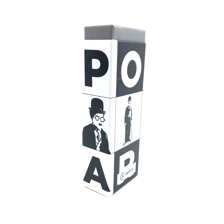 Aptica CHARLIE POP SET - 12 pieces