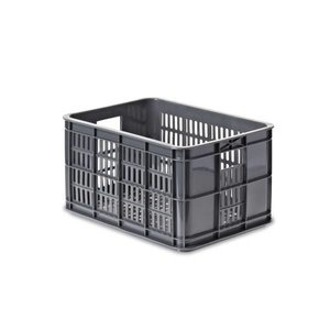 Basil Crate S - fahrradkiste - 25L - grau