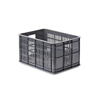 Basil Crate S - bicycle crate - 25l - grey