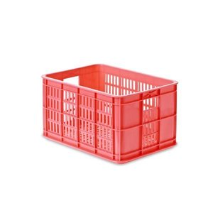 Crate S - Fahrradkiste - Fluor Rosa