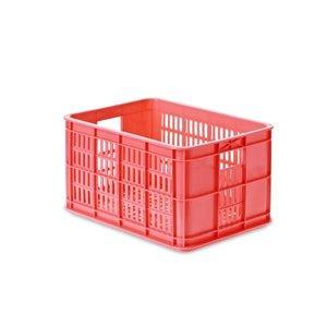 Crate S - Fietskrat - Fluor Roze