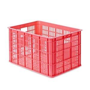 Crate L - Fahrradkiste - Fluor Rosa