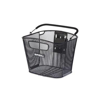 Basil Bold Front Removable - fahrradkorb - 16L - vorderradgepäckträger - schwarz