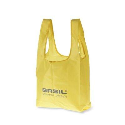Basil Keep Shopper - vouwshopper - neon geel